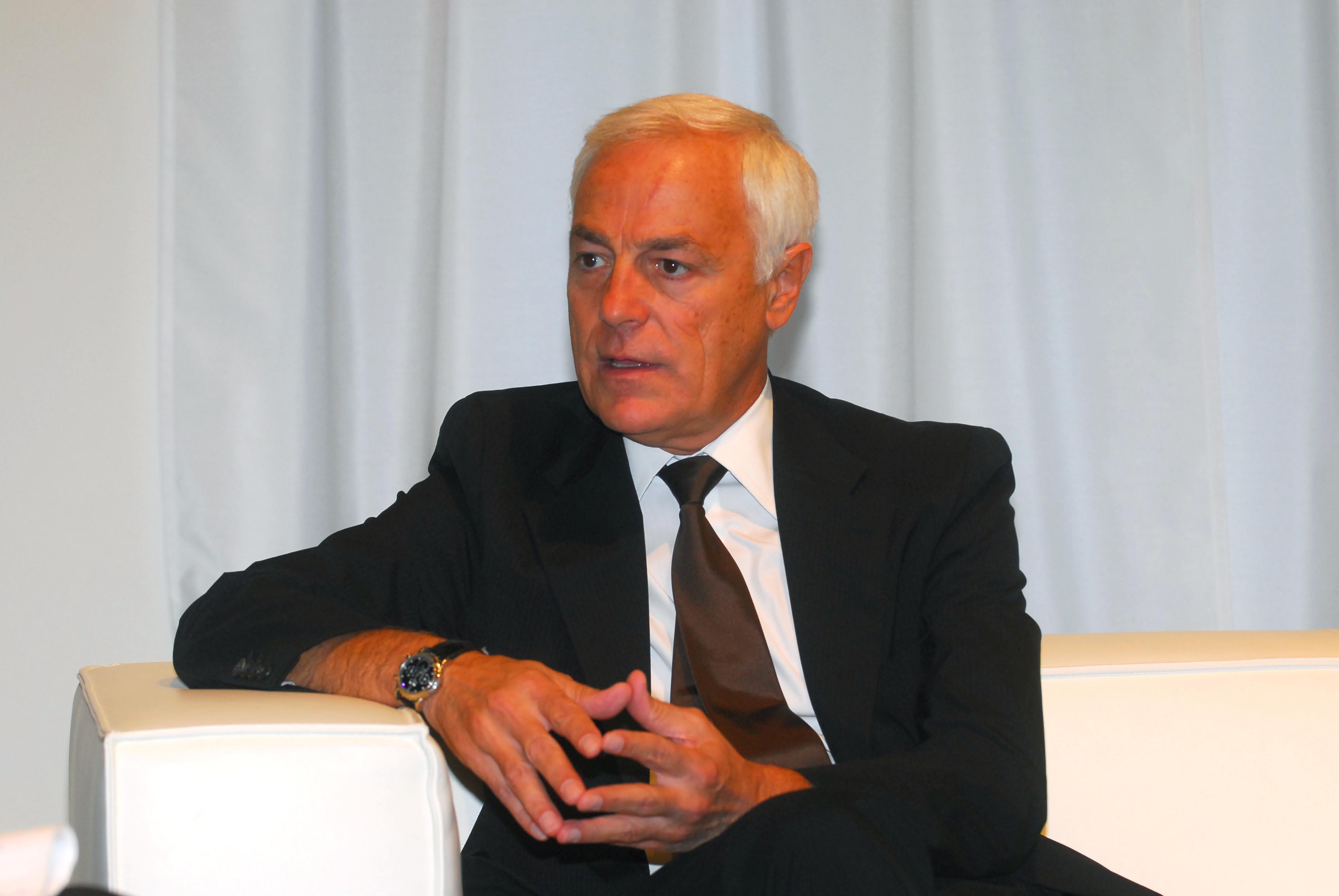 Il presidente Massimo Paniccia