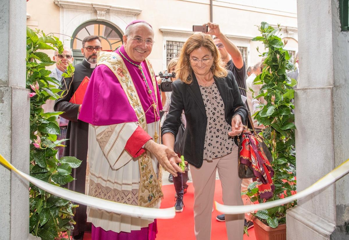 Cerimonia di benedizione della Beata Vergine del Soccorso