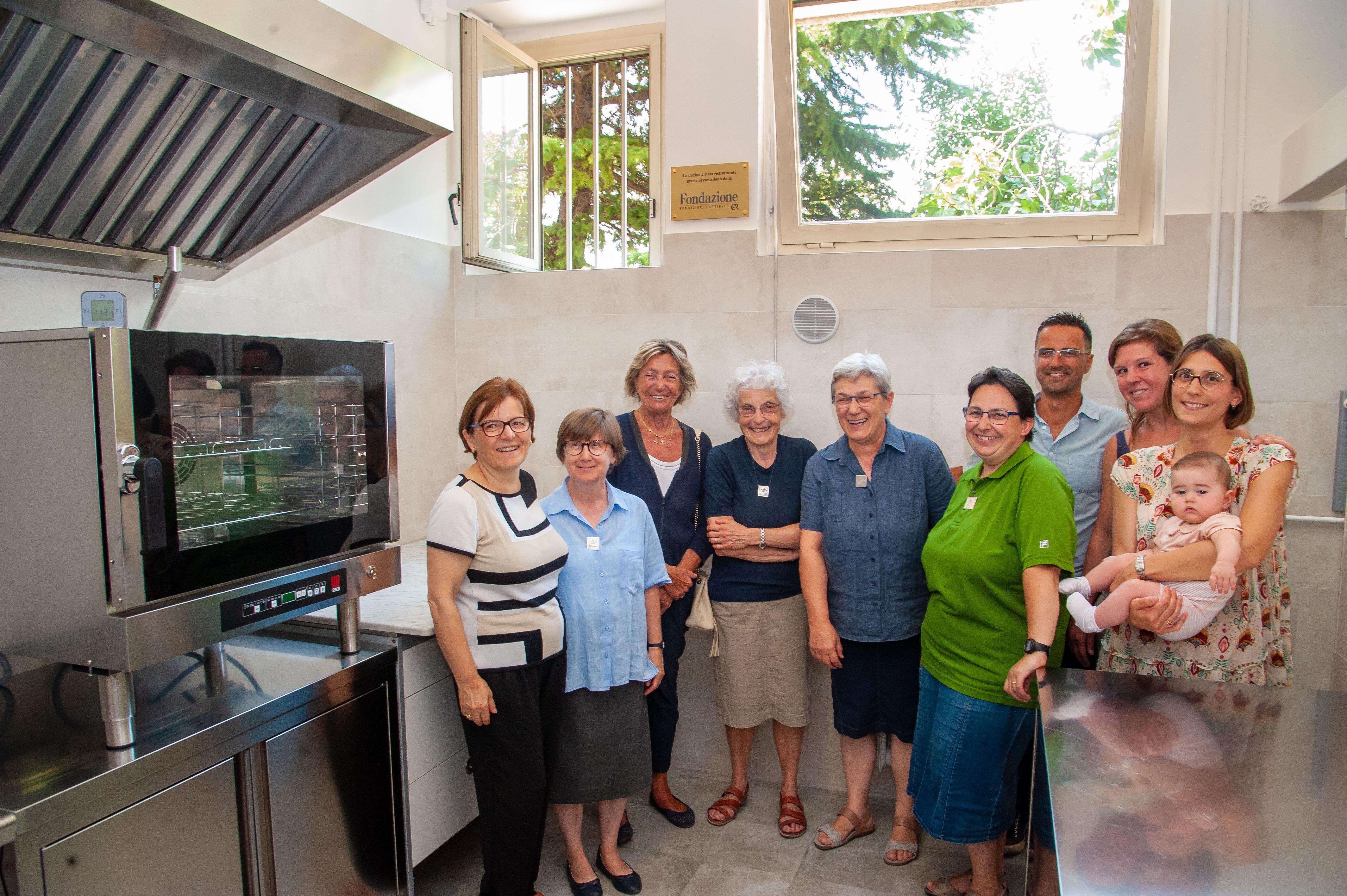 La Fondazione Crtrieste Sostiene La Ristrutturazione Della Cucina Dell Associazione Famiglia E Salute Onlus Fondazione Crtrieste